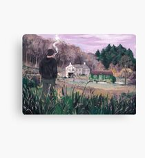 village boy Canvas Print