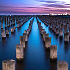 Blue Hour at Princes Pier by Hidn20
