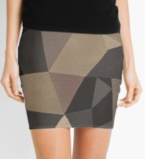 """The digital pattern . """"Leather patches"""" Mini Skirt"""