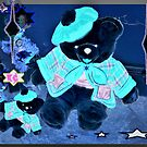 Black Christmas Teddies by ♥⊱ B. Randi Bailey