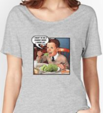 Little Tommy Always Eats His Greens! Women's Relaxed Fit T-Shirt