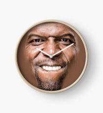 Terry Crews Pillow Face Clock