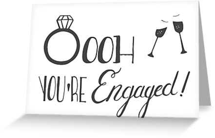 Oooh You're Engaged!!! by Laura-Lise Wong