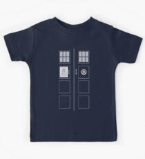 I am the Police Box Kids Clothes