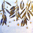 """Mornington Skies 4 - Monoprint by Belinda """"BillyLee"""" NYE (Printmaker)"""
