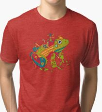 Frog, from the AlphaPod collection Tri-blend T-Shirt