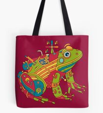 Frog, from the AlphaPod collection Tote Bag