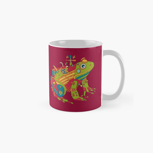 Frog, from the AlphaPod collection Classic Mug