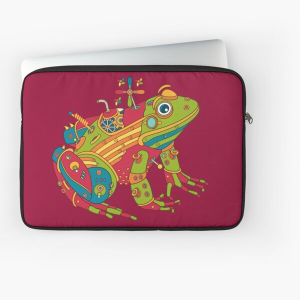 Frog, from the AlphaPod collection Laptop Sleeve