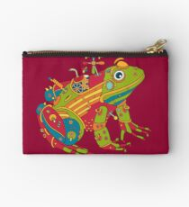 Frog, from the AlphaPod collection Studio Pouch
