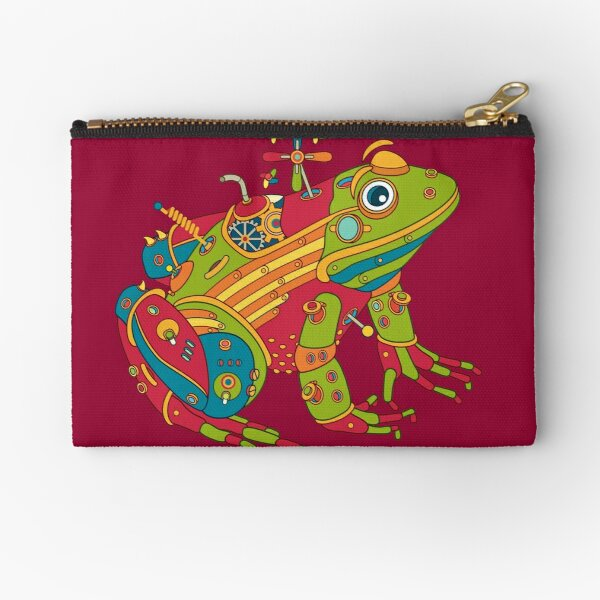 Frog, from the AlphaPod collection Zipper Pouch