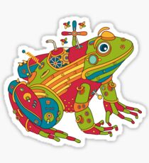 Frog, from the AlphaPod collection Sticker