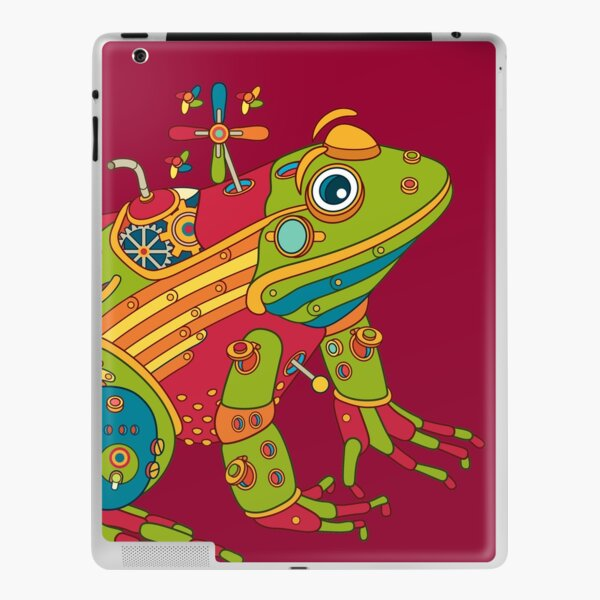 Frog, from the AlphaPod collection iPad Skin