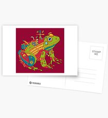 Frog, from the AlphaPod collection Postcards