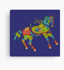 Horse, from the AlphaPod collection Canvas Print
