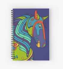 Horse, from the AlphaPod collection Spiral Notebook