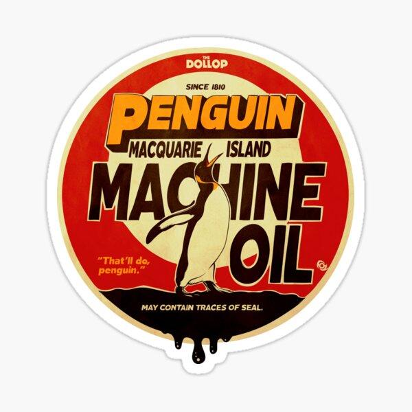 The Dollop - Penguin Oil Sticker
