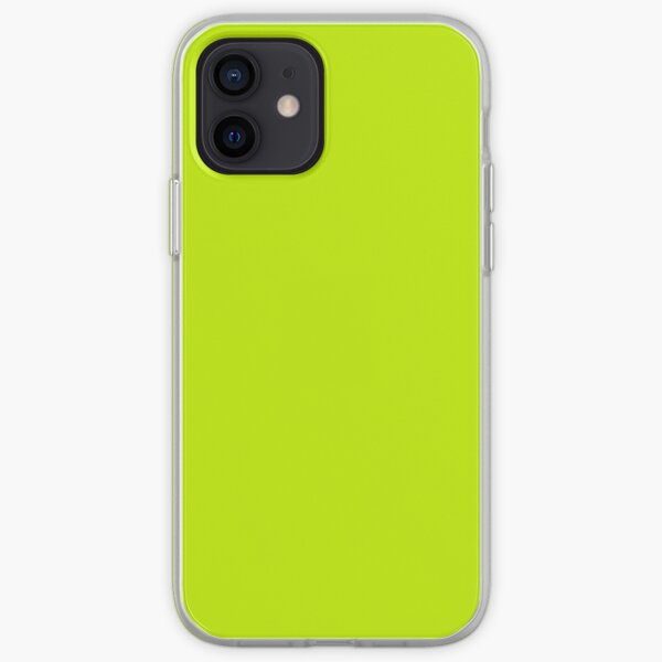Yellow Neon iPhone Soft Case