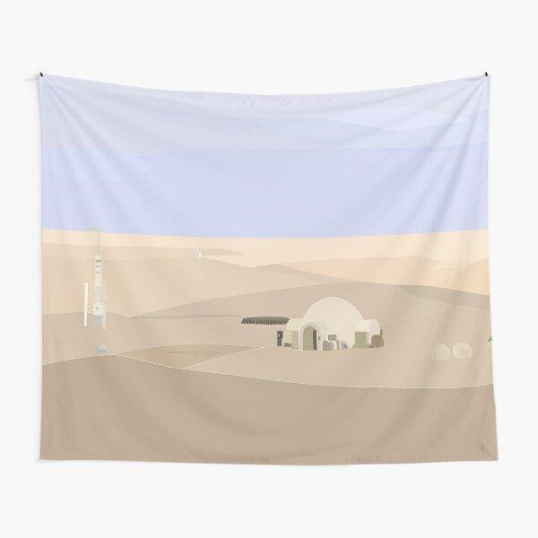 Tatooine Homestead Tapestry