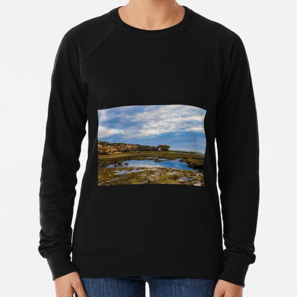 Keyhole Rock, Bridgewater Bay,Blairgowrie, Mornington Peninsula, Victoria, Australia Lightweight Sweatshirt