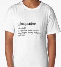 schnapsidee (German) statemant tees & accessories Long T-Shirt