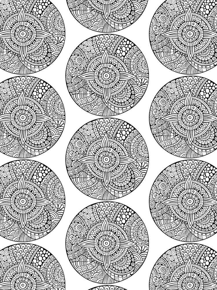Star With Strange Patterns by znamenski