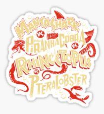 SyFy Monster Movie Mash Halloween Sticker