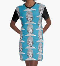 lil xan-black n white Graphic T-Shirt Dress