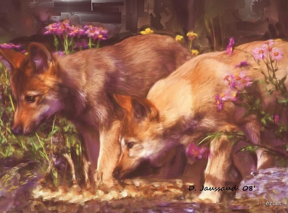 Pups by ezcat