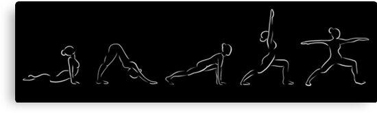 Simple Yoga Flow by Stephanie Mee