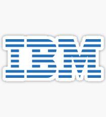 Classic IBM (T-Shirts & Stickers) Sticker