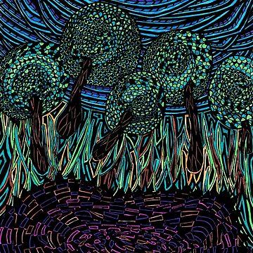 Fountain of Life- Dark by agjohnson