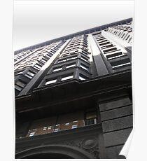 Chicago Monadnock Building #1 Poster