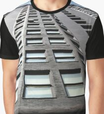Chicago Monadnock Building Graphic T-Shirt