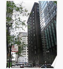 Chicago Monadnock Building Poster