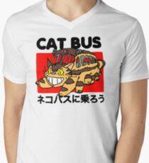 Cat bus Men's V-Neck T-Shirt