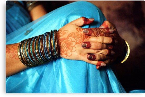 Henna & Bangles... by Biren Brahmbhatt