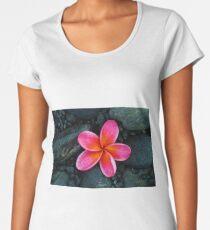 Frangipani Flower Women's Premium T-Shirt