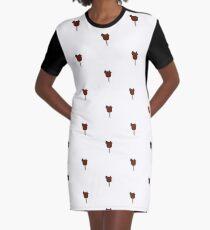 Mickey Ice Cream Bar Graphic T-Shirt Dress