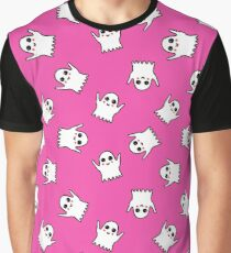 ghost seamless doodle pattern Graphic T-Shirt
