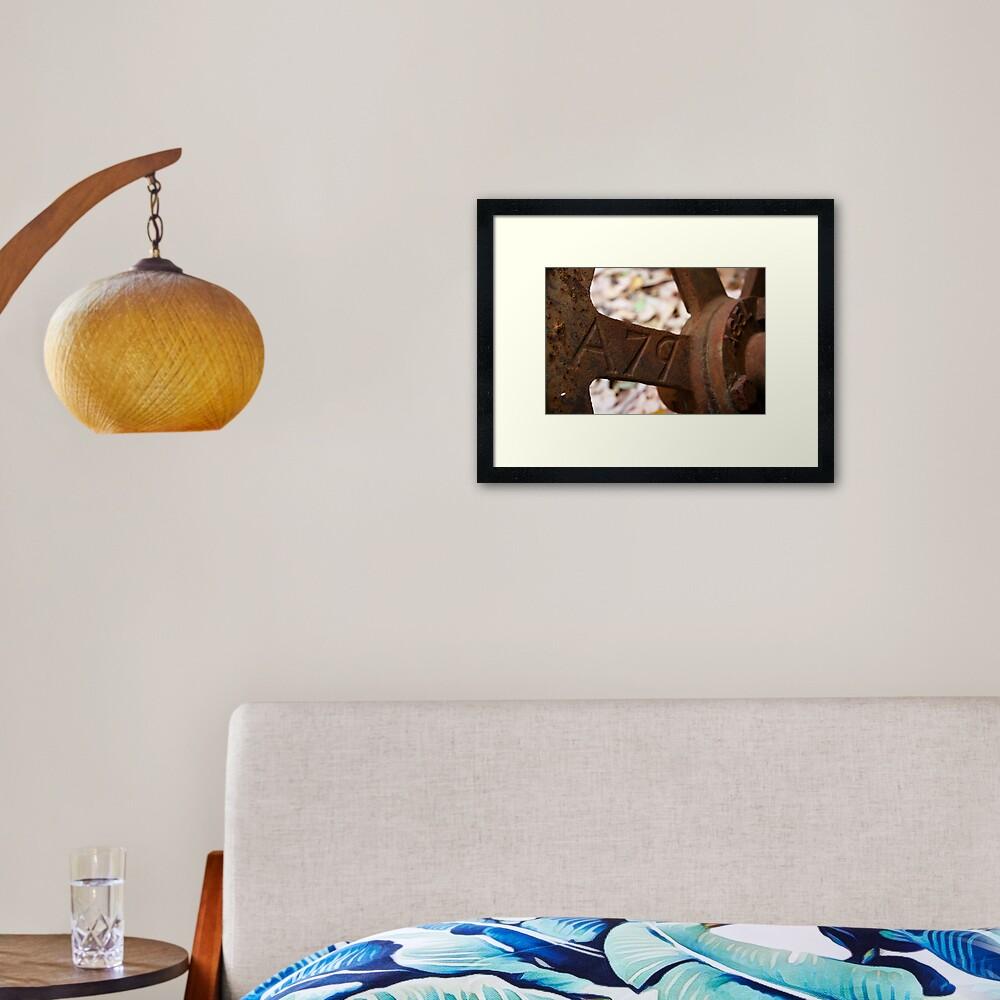 A79 Framed Art Print