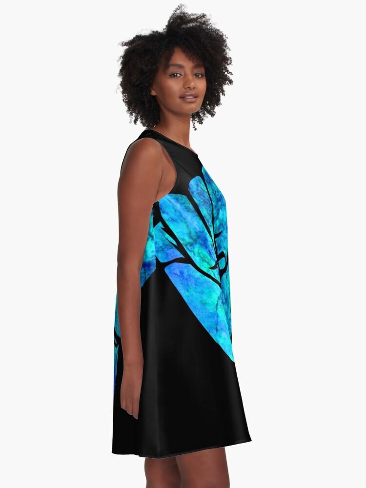 Alternative Ansicht von Shaka Ästhetisches Design A-Linien Kleid