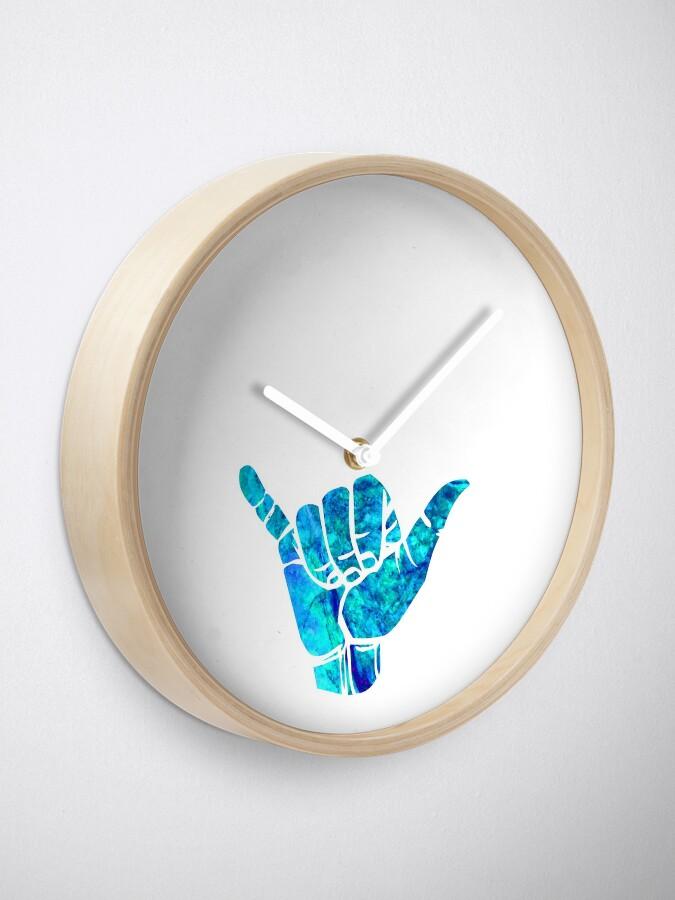Alternative Ansicht von Shaka Ästhetisches Design Uhr