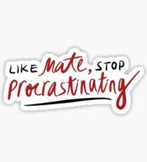 Pegatina como amigo, deja de procrastinar (3RACHA)