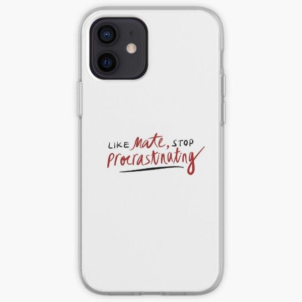 like mate, stop procrastinating (3RACHA) iPhone Soft Case