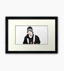 lil xan-so perfect Framed Print
