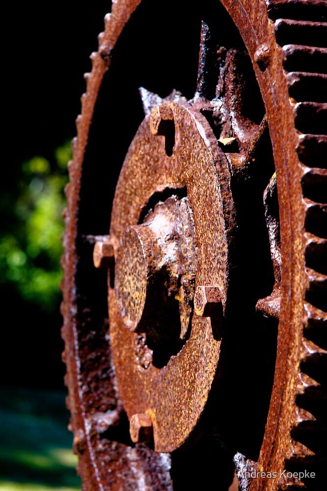 Rusty cog by Andreas Koepke