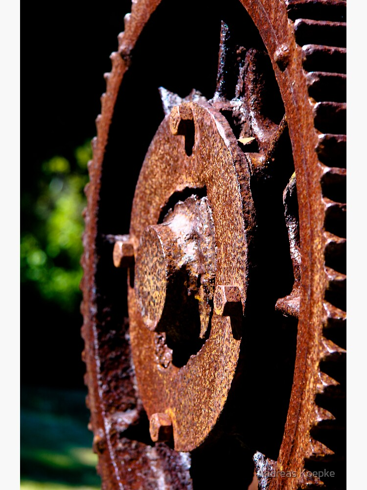 Rusty cog by mistered