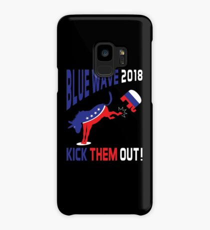 Blue Wave 2018 Kick Them Out Case/Skin for Samsung Galaxy