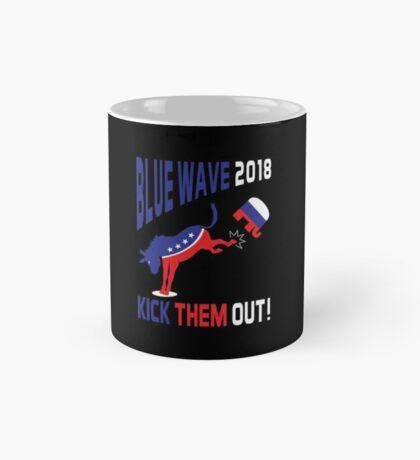 Blue Wave 2018 Kick Them Out Mug